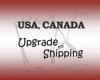 International Shipping with Tracking to CANADA & USA, Postage upgrade,Tracked shipping, Shipping add on from Australia Post