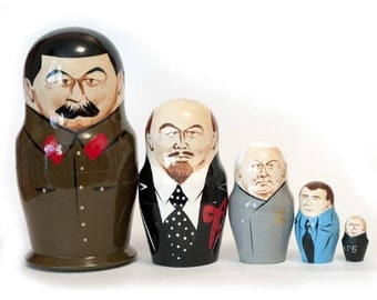 Nesting dolls Stalin and other Russian policies - kod38a