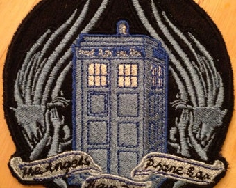Doctor Who The Angels have the Phonebox Patch