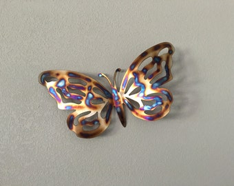 Butterfly  - Stainless steel Butterfly - Home   Decor - Metal Art - Wall Hanging Metal Butterfly