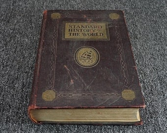 Standard History Of The World Volume I 1-446 By Israel Clare C.1931
