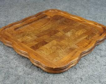 Nissen Denmark Wood Cutting Board C. 1960's