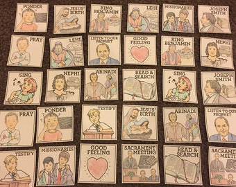 LDS Primary Matching Game