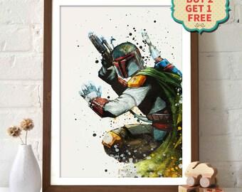 Star Wars Poster - Boba Fett _ B28