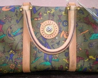 Vintage handbag made in Italy