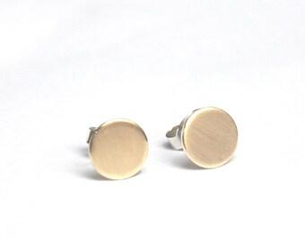 333 Gold ear studs