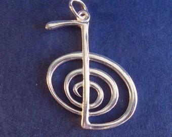 Silver Reiki pendant
