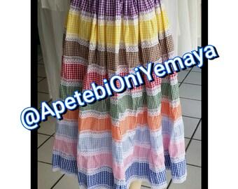 Wholesale Sayas de 9 colores Oya Yansa