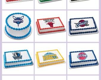 NBA Edible Image Sheets