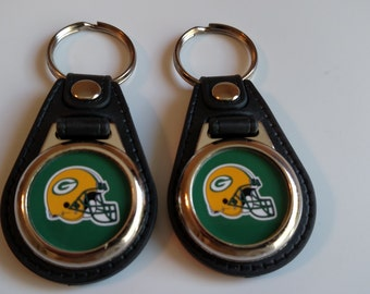 GREENBAY PACKERS KEYCHAIN 2 pack