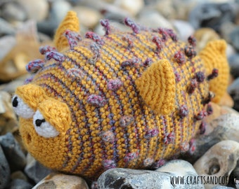 Puffer Fish Crochet Pattern - * PDF Only*