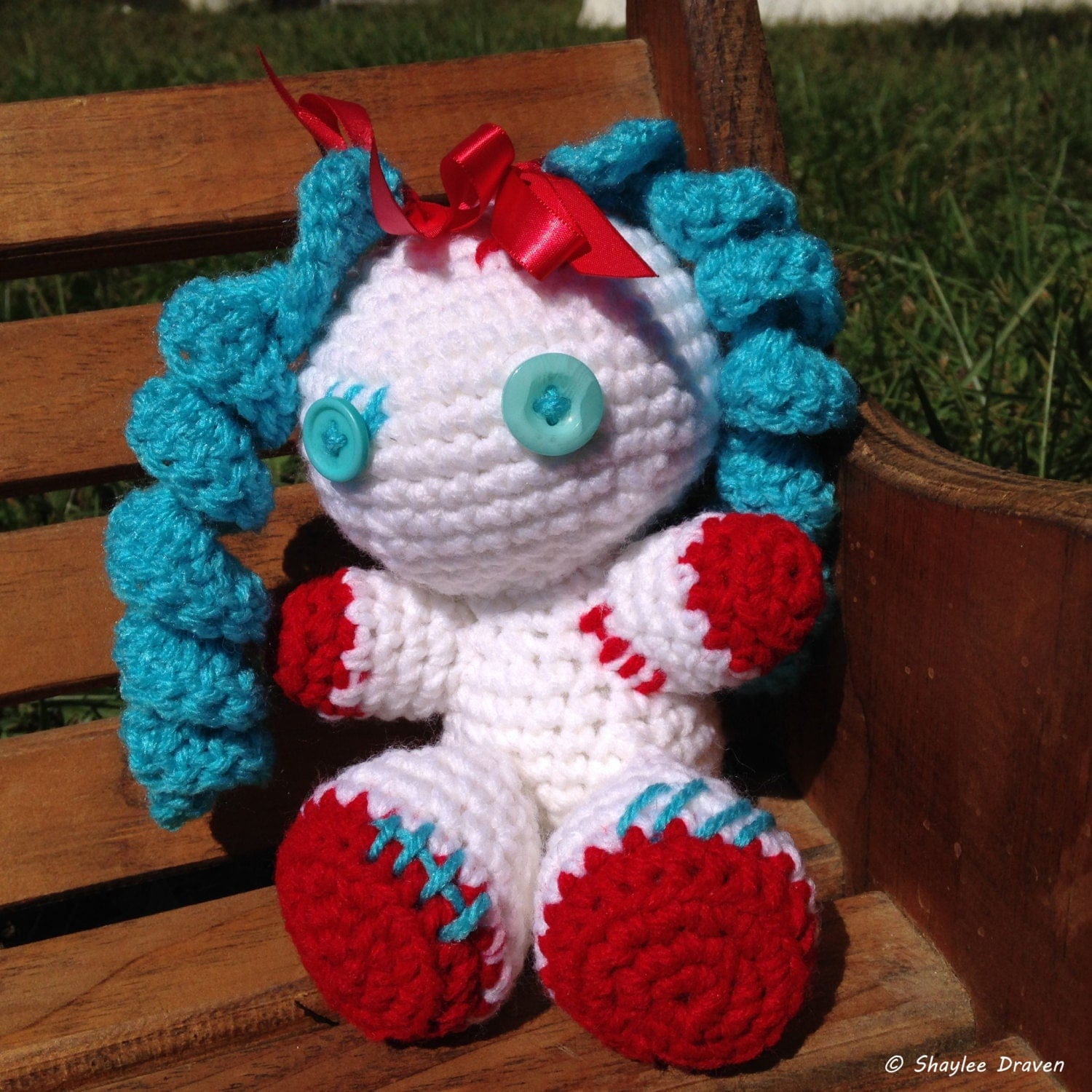 voodoo doll amigurumi doll voodoo dolls crochet by ...