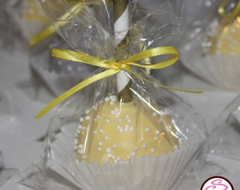 Wedding or Babyshower Themed Gourmet Cake Pops