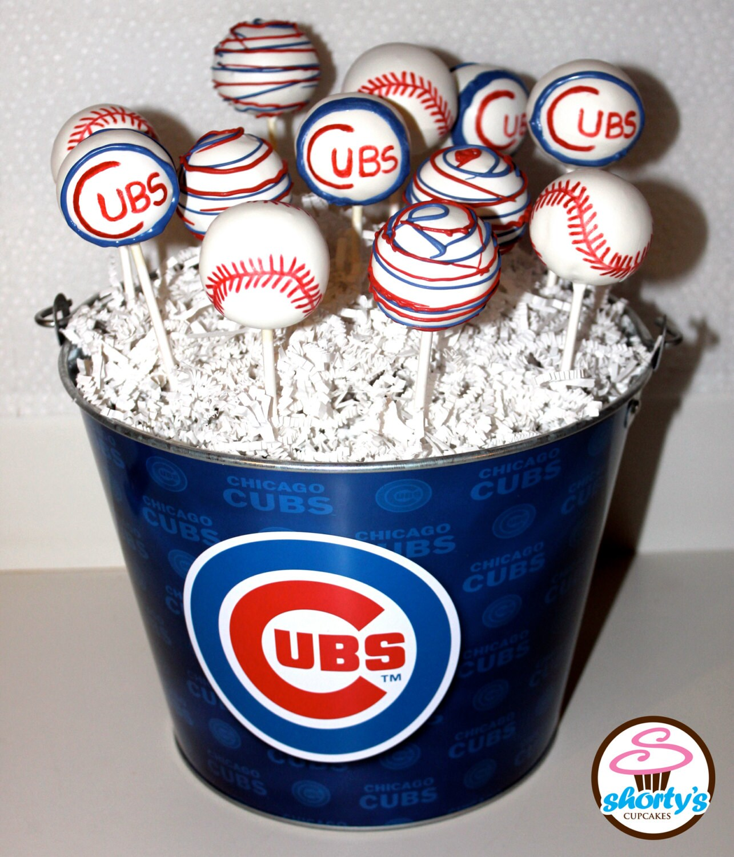 Cake Pop Tags Baseball