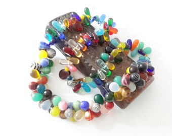 Antique Mali Wedding Beads Strand