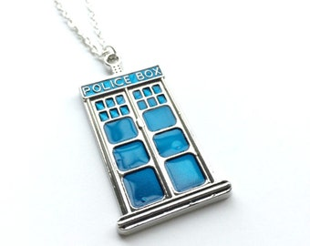 Doctor Who inspired necklace