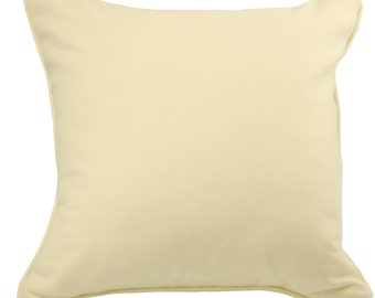 Ivory Wool Pillow Cover, Ivory Pillow -  22 x 22