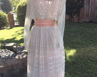 Orignal Edwardian Lace Dress