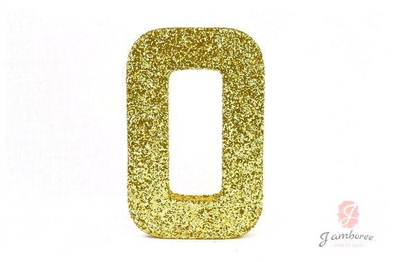 "8"" Large Glitter Number (0-9) Pink Gold Silver White Mint Mauve Purple Red Birthday Glitter Prop Number, Glitter Number, Paper Mache"