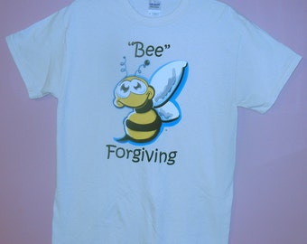 Adult Bee Forgiving T-Shirt