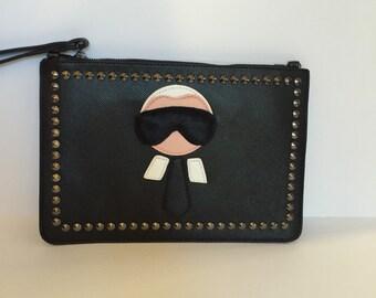 Karl Lagerfeld inspired clutch