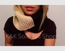 Adult Knitted Scarf