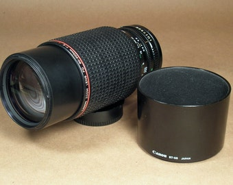 Canon 80-200mm f/4 L FD-Mount Telephoto 35mm SLR Zoom Camera L-Glass Lens!