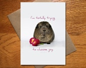 Choose Joy Card / Every Day Spirit / Friend Encouragement Card / Funny Card / Animal Card / 5x7