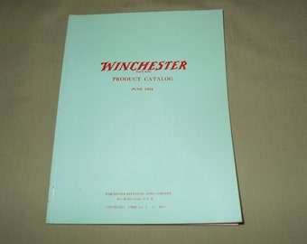 1988 Winchester Product Catalog Featuring Products from 1923 Catalog