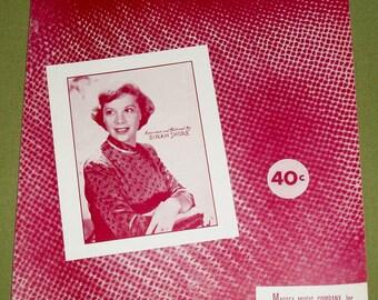 My Heart Cries For You - Dinah Shore - Sheet Music 1950