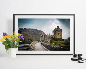 Eilean Donan the Highlander castle in Scotland