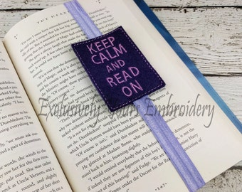 Keep Calm and Read On Planner Band