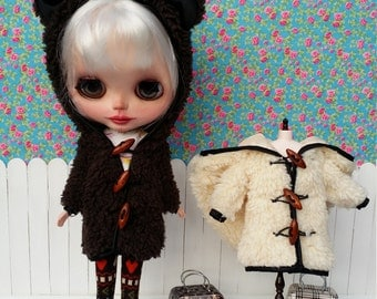 RESERVED CAREY coat of Brown sheep with Leggings for BLYTHE
