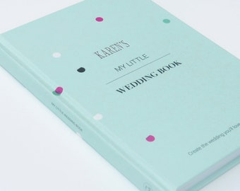 Personalised Wedding Planner, Guide, Journal & Notebook