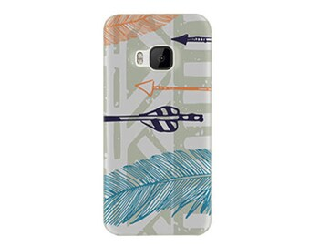 Htc Desire 626 Case - Htc D626 Case - Htc Desire 626s Case #Feathery Tribal Cool Design Hard Phone Cover