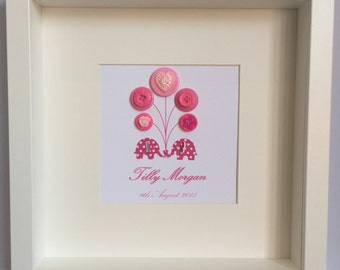 Personalised Trunk to Trunk artwork - pink