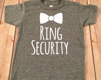 Ring Bearer Short Sleeve Tee,Ring Bearer T-Shirt,Ring Bearer monogram name shirt,Ring bearer gift, Ring Bearer gift, Ring Bearer Gift