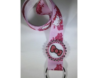 Lanyard - Hello kitty and bow
