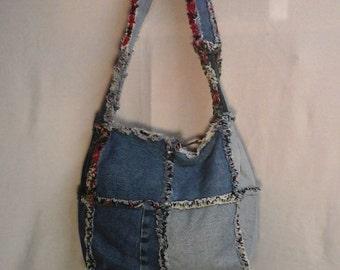 Denim purse/tote
