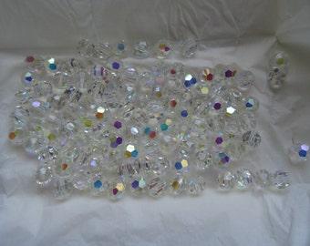 Swarovski vintage ds & co - 108 Crystal 7 mm - Crystal AB