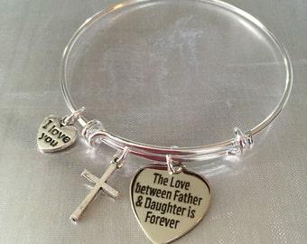 Father daughter bracelet