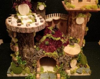 OOAK Fairy House: Fairy Kings Castle