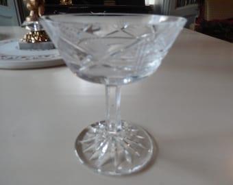 CRYSTAL SHERBET GLASS