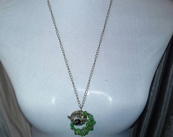 Steam punk inspired necklace