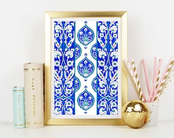 Moroccan Dreams Art Print - Home Decor - Wall Art - Art Print