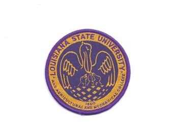 Vintage Louisiana State University (LSU) Patch