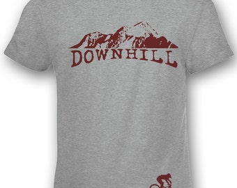 Downhill bike tshirt mtb Gift Bikers mountain bike cycling bicycle t-shirt single track S - 5XL