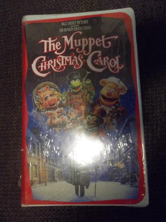 The Muppet Christmas Carol New Sealed VHS 1993 Vintage
