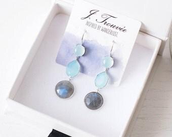 Trilogy Earrings - Silver