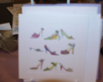 Shoes Card